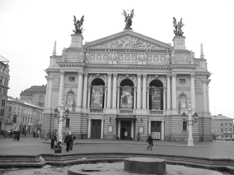 Lviv Opera and Old Center
