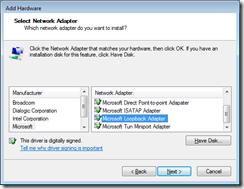 Loopback Adapter
