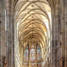 St Vitus Cathedral, Prague by Keith Millard - Buildings & Architecture Places of Worship ( europe, st vitus cathedral., czech republic, travel, prague )