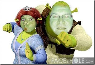 Trond og jeg Shrek