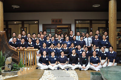 2010年4月25日,攝於馬六甲靜思堂第二次培訓慈委課程