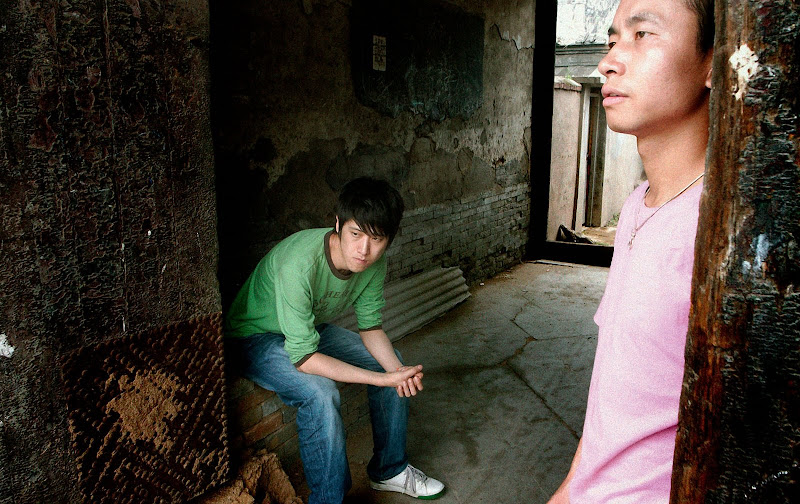 A scene from the short film TONGZHI IN LOVE, photo by director Ruby Yang