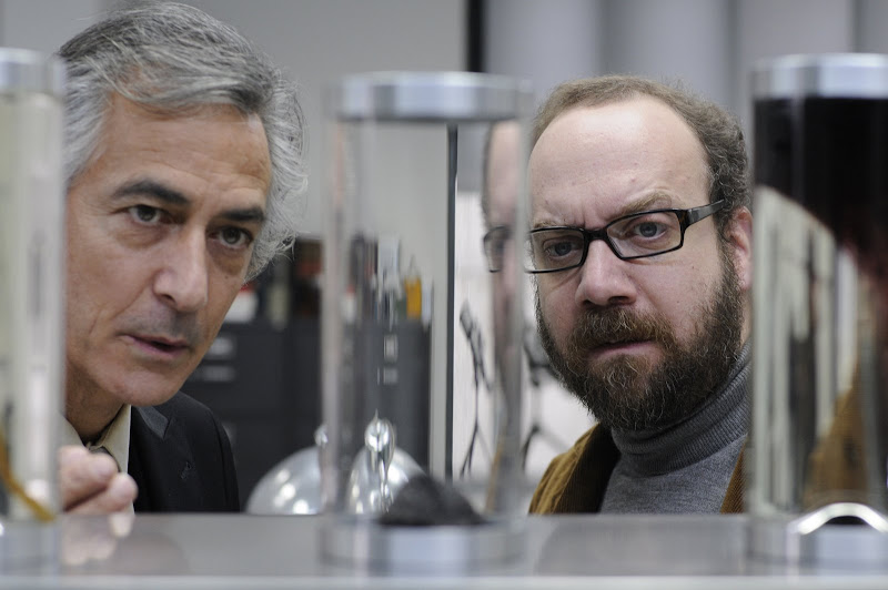 COLD SOULS -David Strathairn as Doctor Flinstein and Paul Giamatti as himself