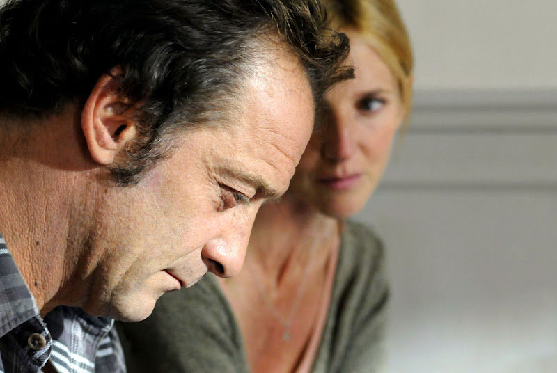 Vincent Lindon and Sandrine Kiberlain in Mademoiselle Chambon