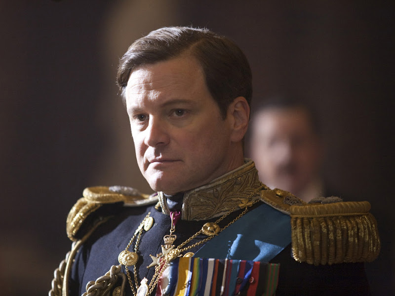 Colin Firth stars as King George VI in The King's Speech
