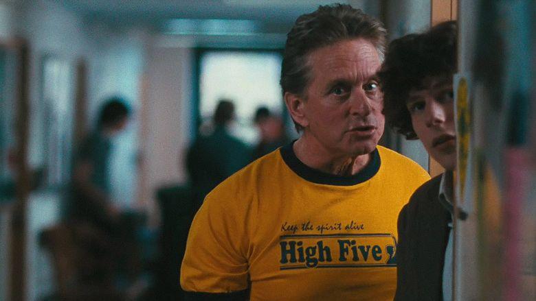 Michael Douglas and Jesse Eisenberg in SOLITARY MAN