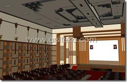 3D Modeling Perencanaan2 - Arsiteka (Ruang Sidang Paripurna DPRD Kabupaten Malang)