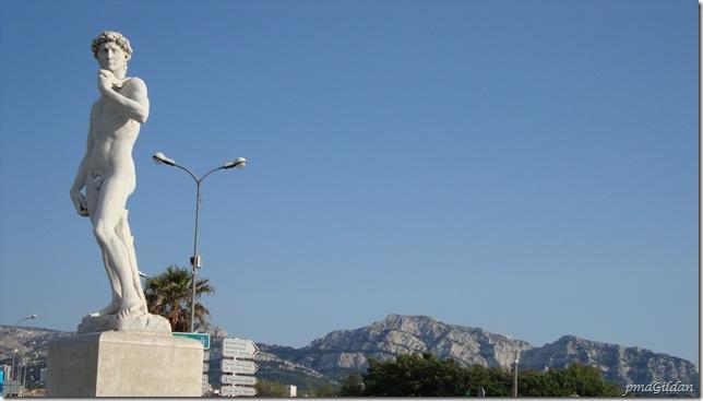 "Marseille ""Le David"", Prado Plage"