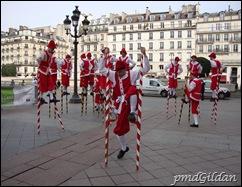 Échasseurs de Namur, 40 ans de O.I.F, Hôtel De Ville de Paris 2010