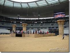 Répétition Salut des danseurs, AIDA, Stade De France