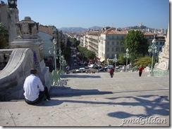 Marseille, Escaliers de la Gare
