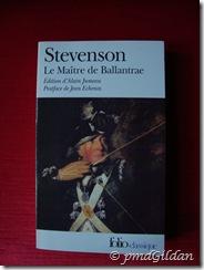 Le Maître de Ballantrae, Stevenson