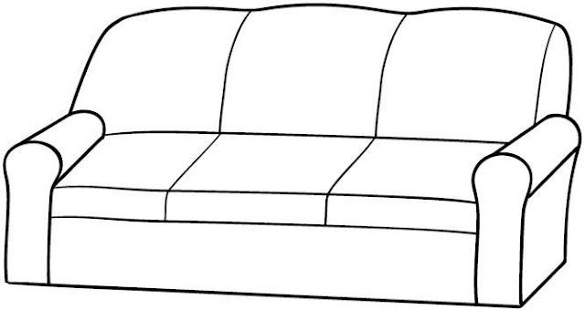 Dibujos de cosas del salon para colorear el salon de la casa for Cosas del hogar online