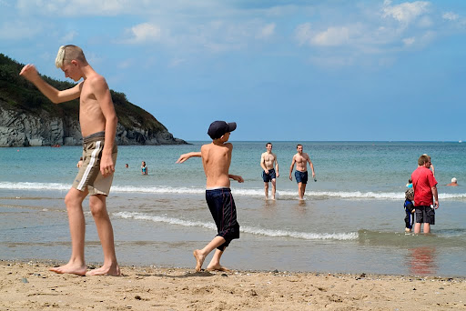 aberporth%20beach The Boys of Summer Aberporth Ceredigion
