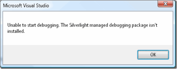 silverlight_managed_debugging_package_not_installed
