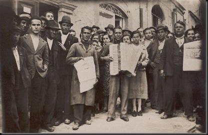 Peppino Gazzoni Armando e Alfredo Silvagni 2-6-38. a Urbino