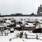 Казацкий зимовник. Реконструкция на острове Хортица