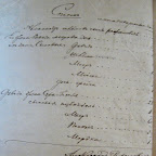 Список семьи А. Рафаловича.  ГАНО Ф. 216, оп. 1, д. 257.