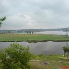 Вид на п-ов Аляуды с противоположного берега р. Ингул
