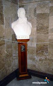 Бюст Н.А. гедройца в Николаевском художественном музее им. В. Верещагина. Скуптор И. Макушина