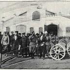 Император Николай ІІ в на судостроительном заводе Николаеве