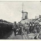 Император Николай ІІ на линкоре Императрица Мария в Николаеве