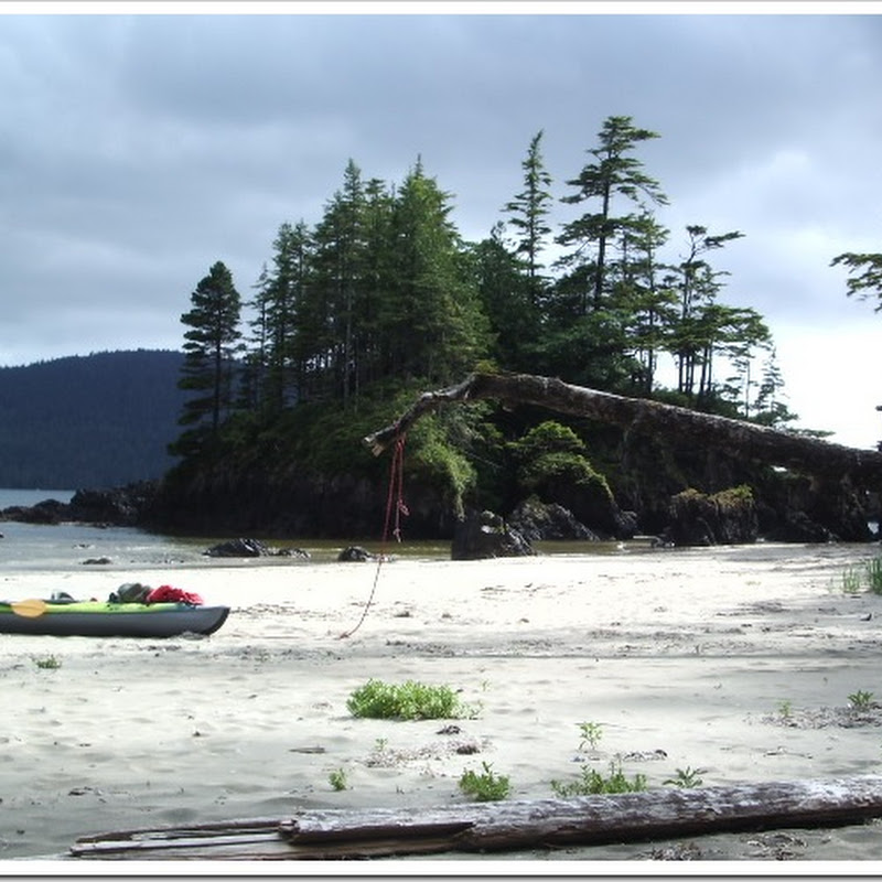 San Josef Bay – Kayaking and A Pocket Beach