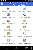 Screenshot of Just Money - Expense Manager *