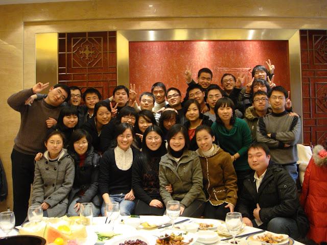 省熟中04届7班2009春节聚会合照