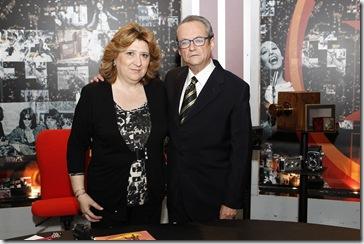 Dolores de Lara junto a Alfonso Arteseros