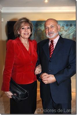 Paco Cózar y Laura Valenzuela, Director y Consejera del Club de Medios