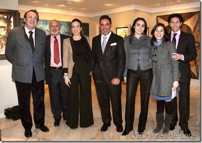 Paloma Segrelles y su marido Emilio Álvarez se sumaron al homenaje