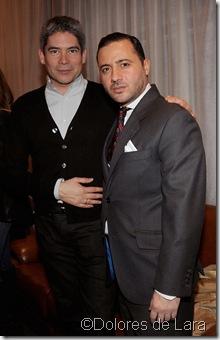 Boris Izaguirre y Nacho Jacob