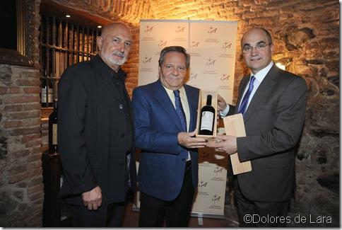 Paco Cózar, Julio César Fernández y Antonio Pino