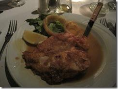 Chicken Fanchese at Lookout Rrestaurant in Hazleton PA