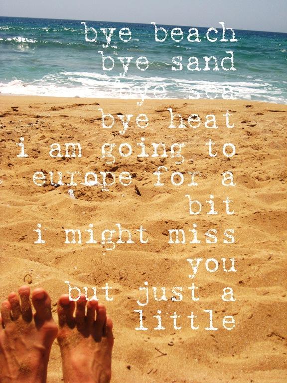 bye beach