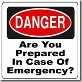 Emergency - Are your prepared