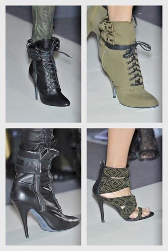 Zapatos de Giuseppe Zanotti: Colección primavera 2010
