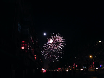 bright lunar Lantern Day, the night China here in war field sonically  with fireworks. - 天下予帝birdous天下中帝 - IIDChina╋我帝中华