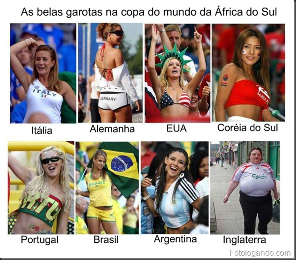 Garotas da copa do mundo
