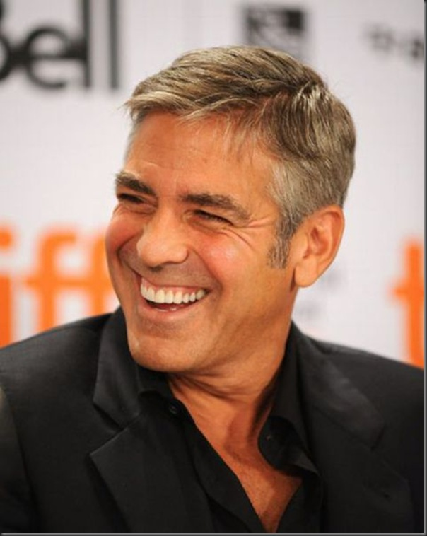 "Actor George Clooney speaks onstage at the ""Men Who Stare At Goa"