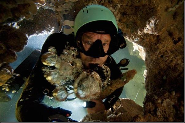 Lindas imagens de cavernas nas Bahamas (18)
