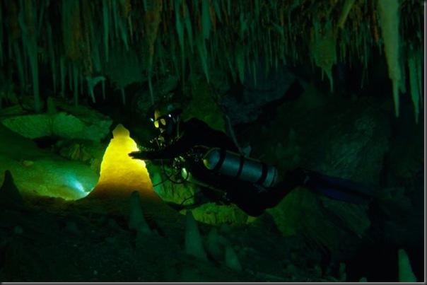 Lindas imagens de cavernas nas Bahamas (17)