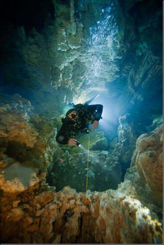 Lindas imagens de cavernas nas Bahamas (13)