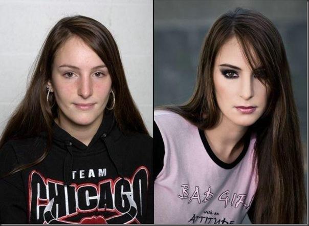 A diferença depois de um trato no visual