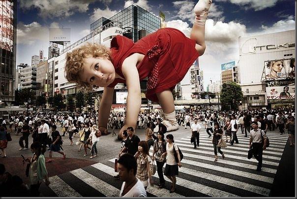 Grandes crianças em uma pequena cidade (4)