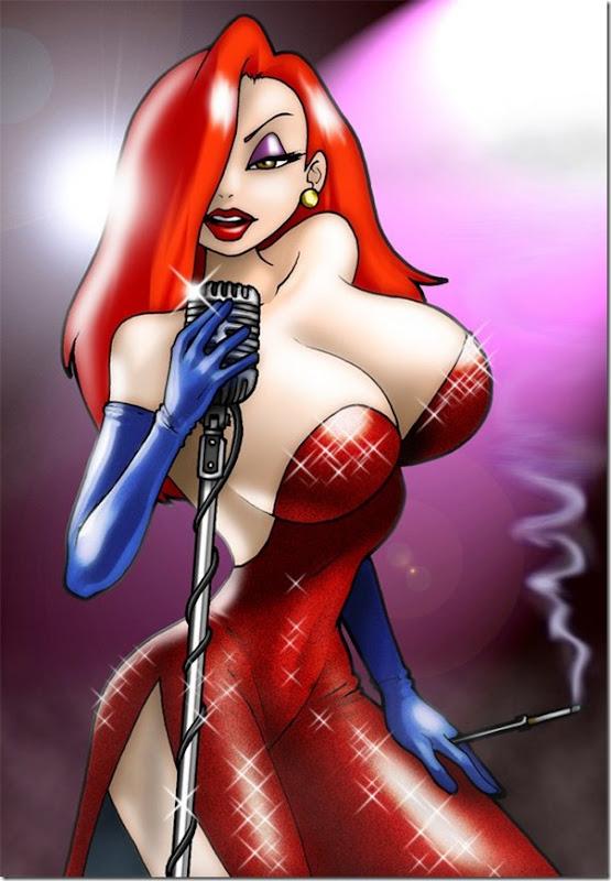 Jessica Rabbit a personagem mais sensual da Disney (2)