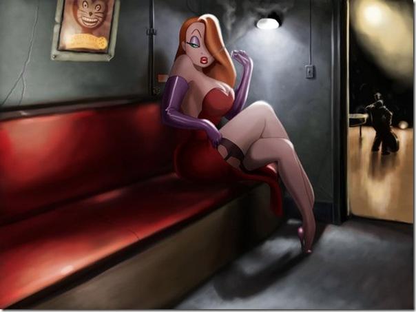 Jessica Rabbit a personagem mais sensual da Disney (7)