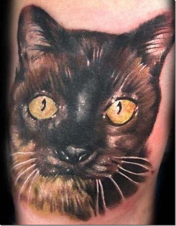 Tatuagem de gatos (5)