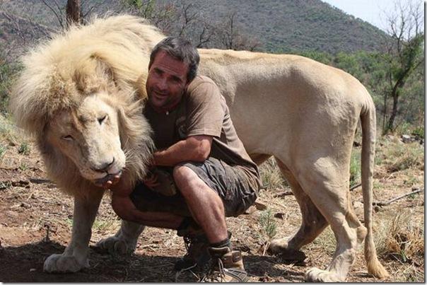 Kevin Richardson, O encantador de leões